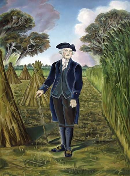 Throughout his lifetime, George Washington cultivated hemp at Mount Vernon for industrial uses.