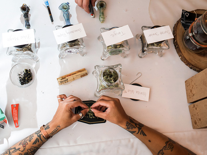 budtender-at-wedding