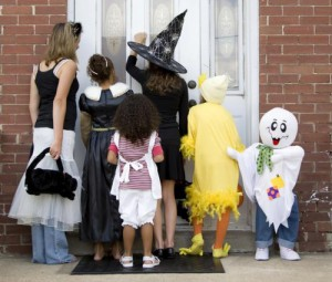 This Halloween should be no different for parents, who should always employ common sense on Halloween. Throw out any unwrapped candy and inspect all packaging before letting your kids gorge on treats. (Thinkstock)