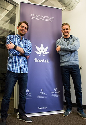 Kyle Sherman and Chase Wiseman, co-founders of Flowhub.