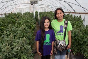 Alexis began taking medical marijuana 3 years ago.