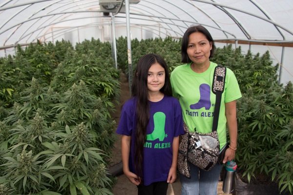 Alexis began taking medical marijuana 3 years ago.