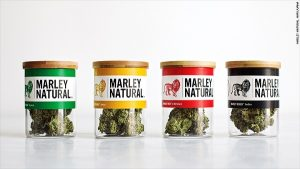 Marley Natural, a cannabis strain from the estate of the late Bob Marley, is one of the dominant celebrity cannabis brands.