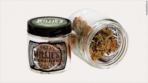 Willie Nelson has his own brand of cannabis, called Willie's Reserve.