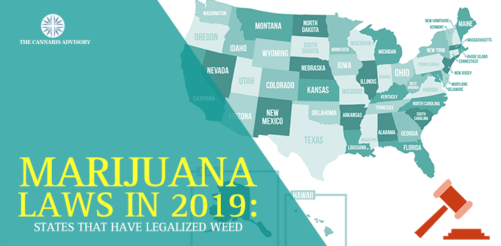 States That Legalized Weed