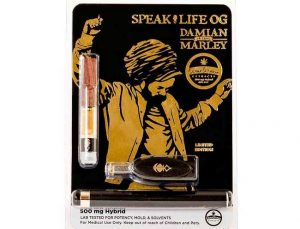 THC Oil Vape Pen: Marley Speaklife
