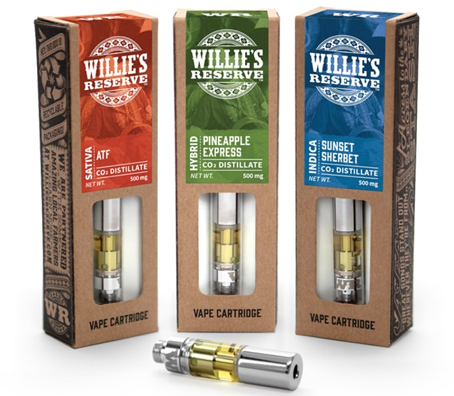 THC Oil Vape Pen: Willie's Reserve