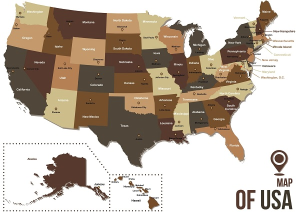 Regarding the use and possession of marijuana, this is the current status of all the U.S. states.
