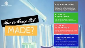 How is hemp oil extracted?