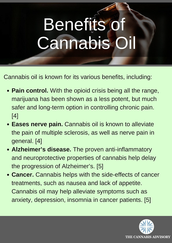 Benefits of Cannabis Oil